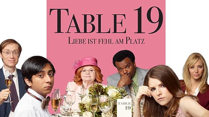 Table 19 - Liebe ist fehl am Platz [dt./OV]