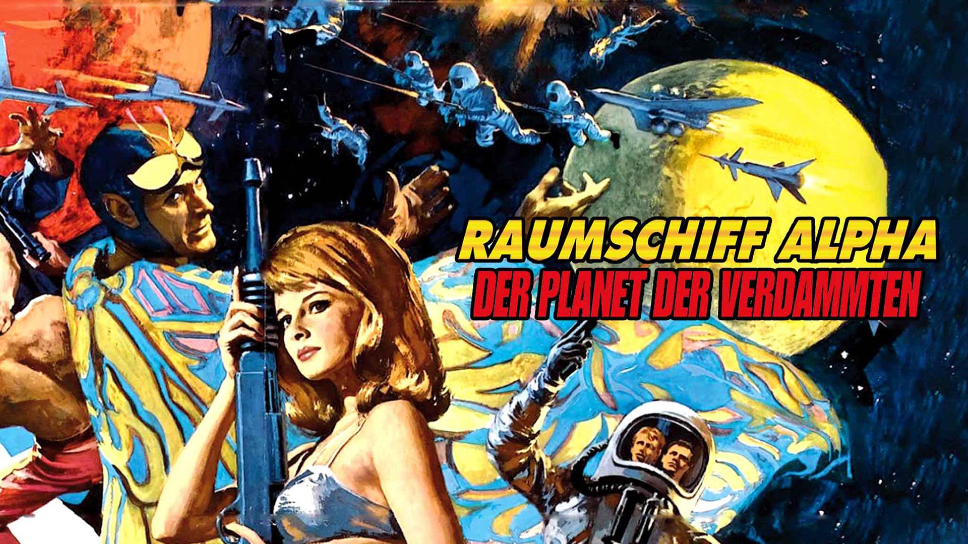 Planet der Verdammten - Raumschiff Alpha