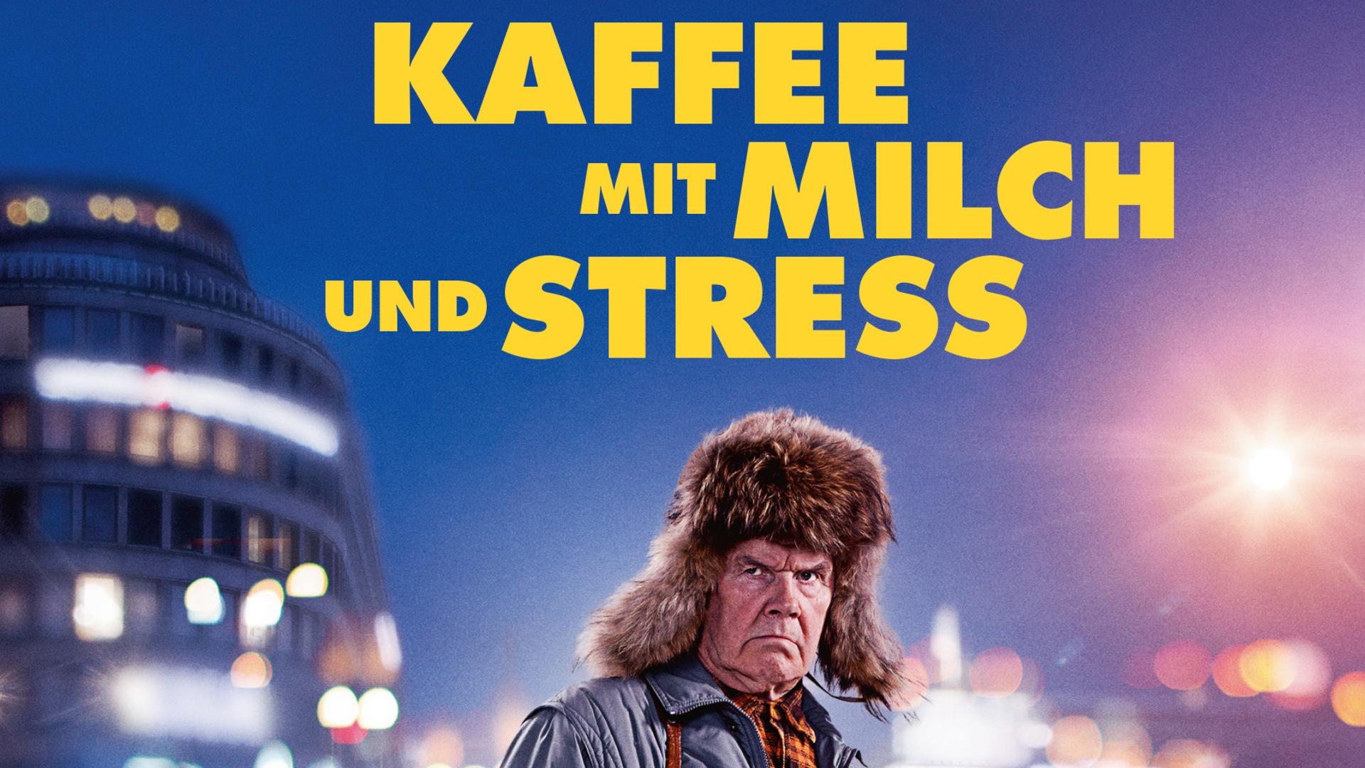 Kaffee mit Milch und Stress