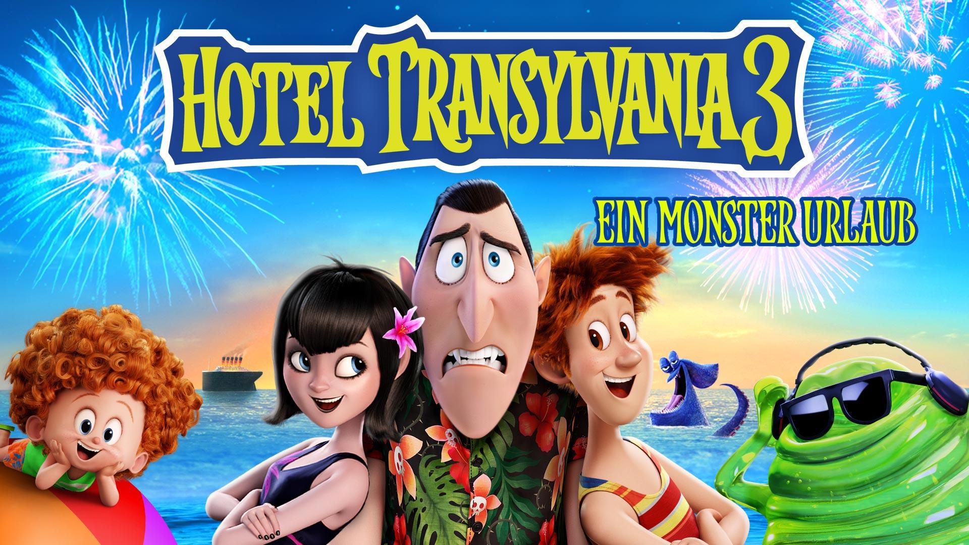 Hotel Transsilvanien 3 - Ein Monster Urlaub (4K UHD)