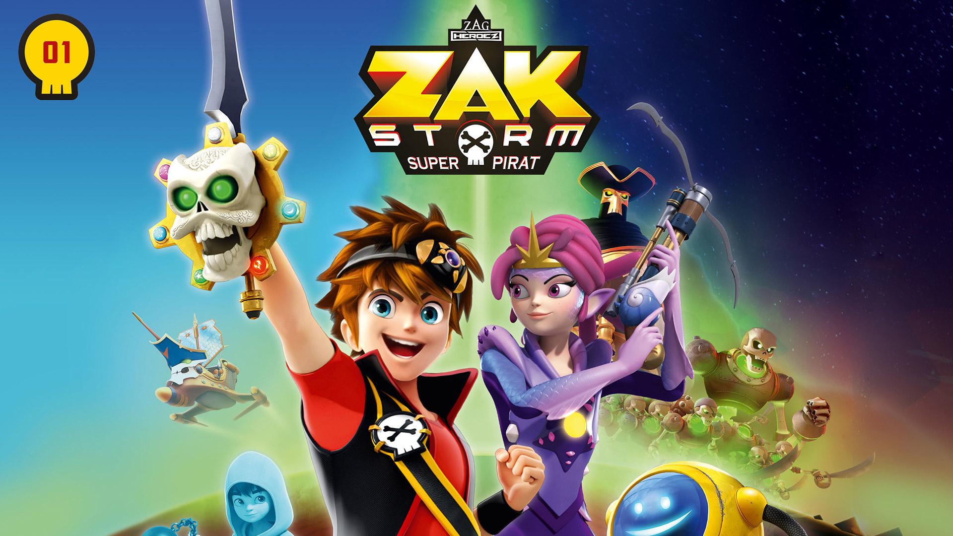 Zak Storm - Staffel 1