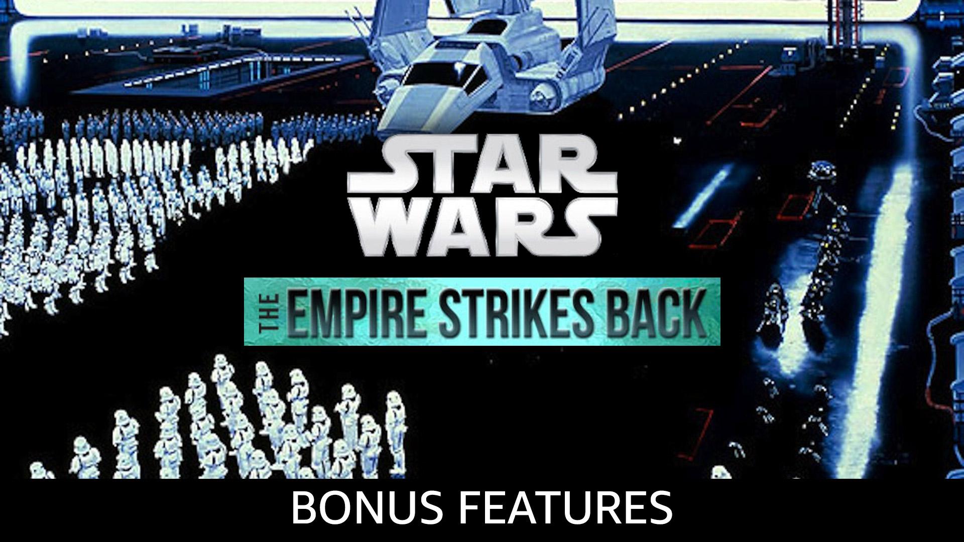 Star Wars: The Empire Strikes Back Bonusmaterial