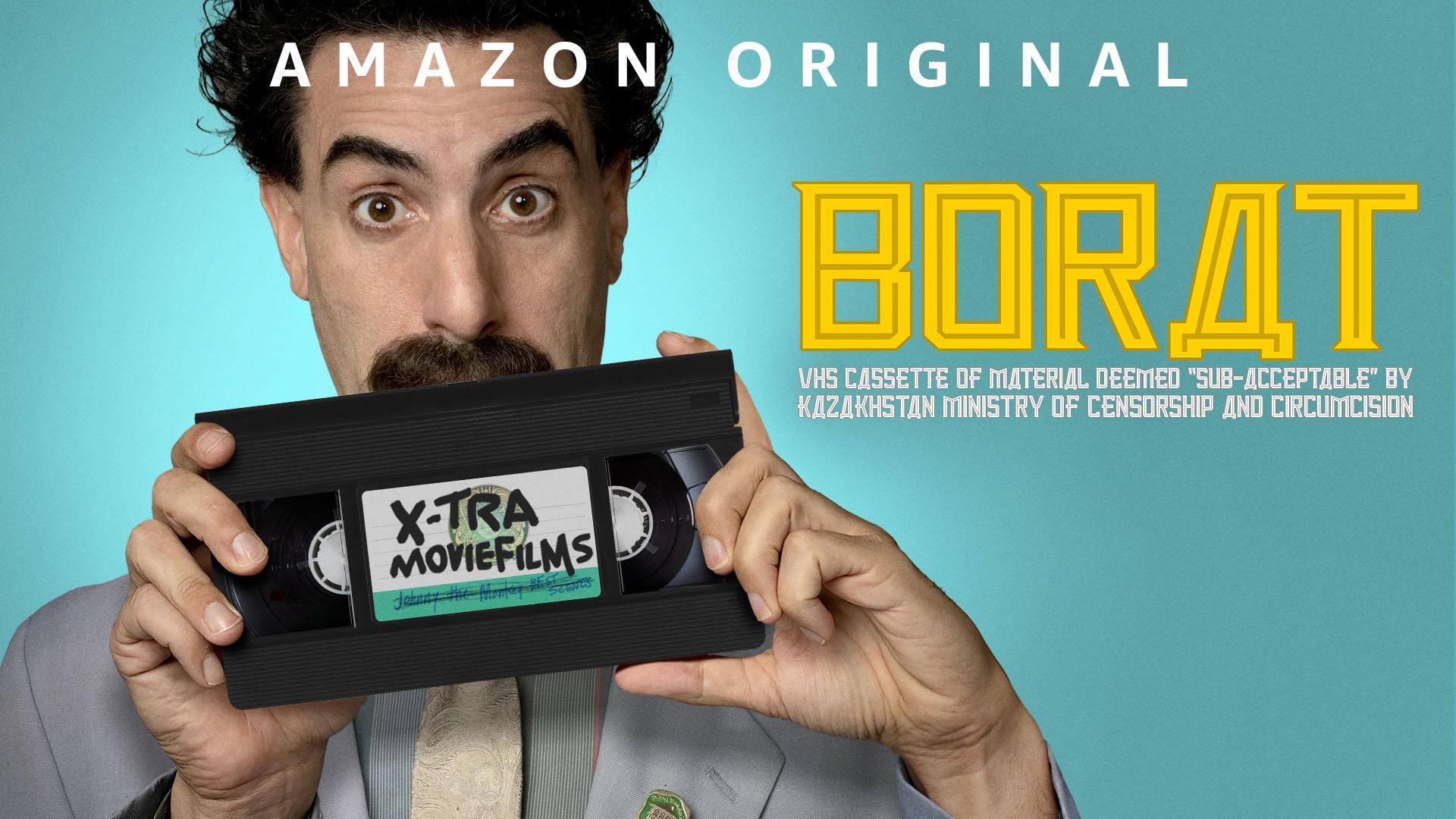 """Borat: VHS Kassette vom Material gefunden """"sub-akzeptabel"""" von Kasachisches Ministerium für Zensur und Beschneidung - Staffel 1"""