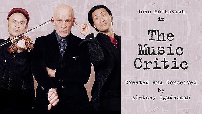 John Malkovich in The Music Critic