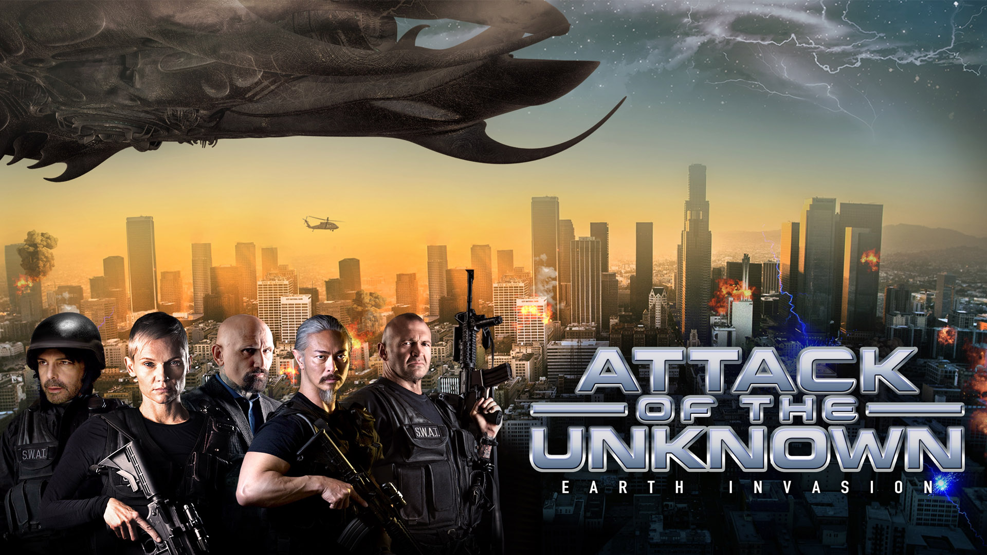 Attack of the Unknown - Earth Invasion