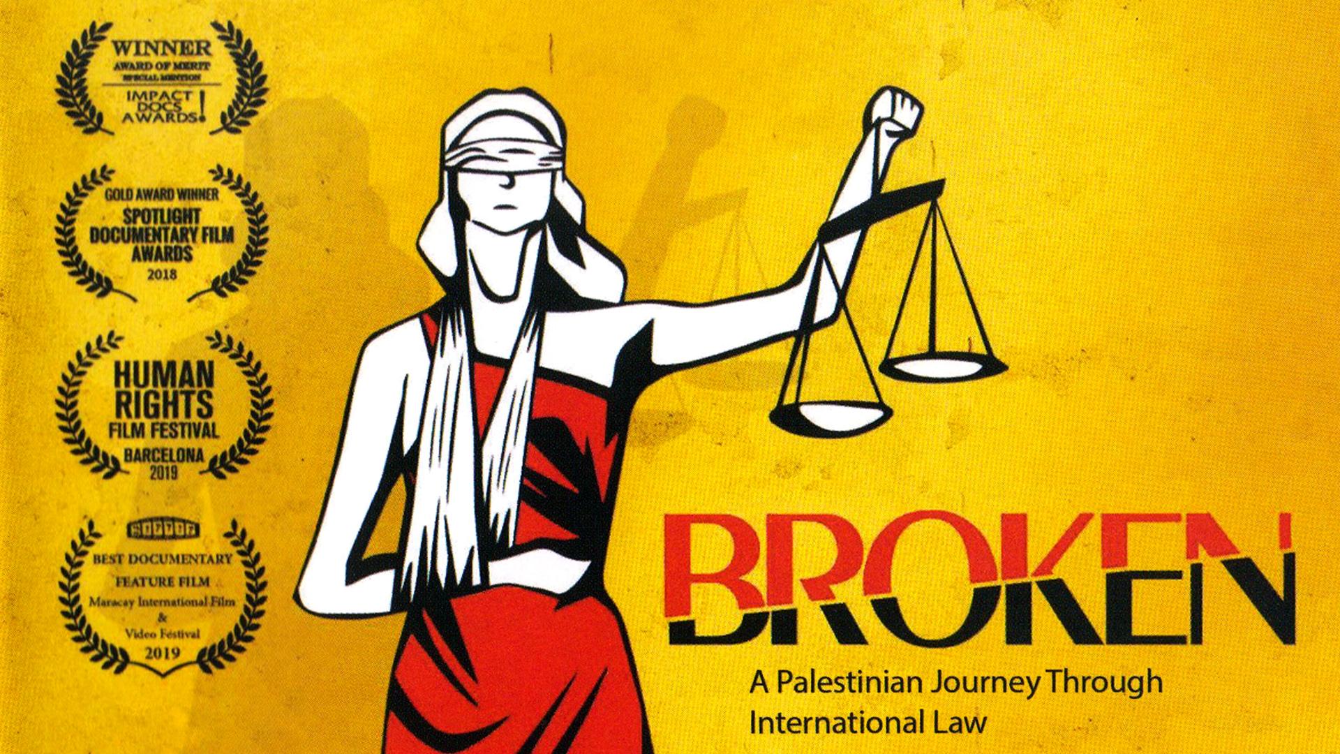 Broken - Eine palästinensische Reise durch internationales Recht (OmU)