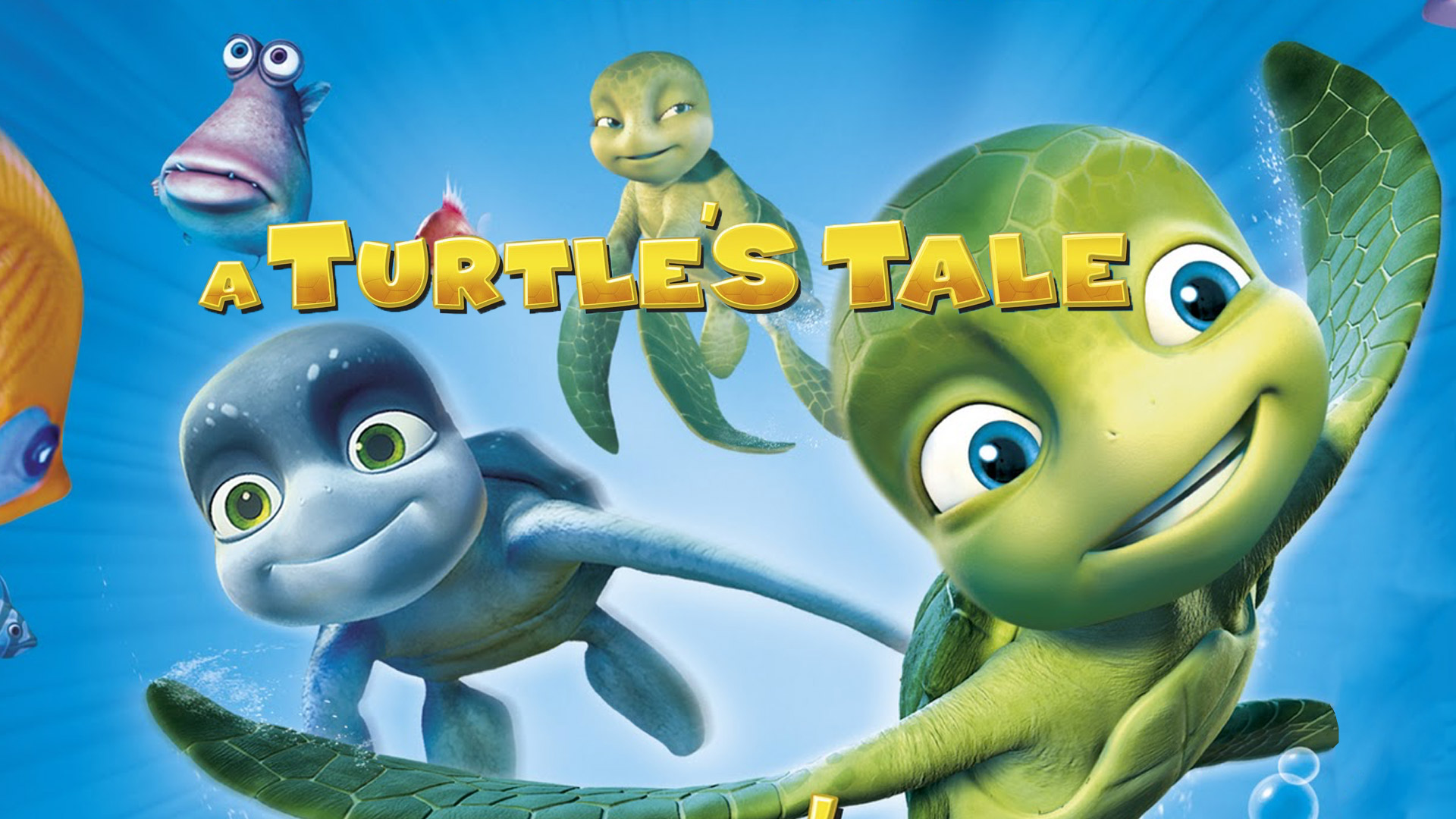 A Turtle's Tale - Sammy's Adventures