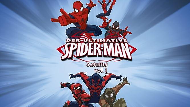 Amazonde Der Ultimative Spider Man Staffel 1 Teil 1