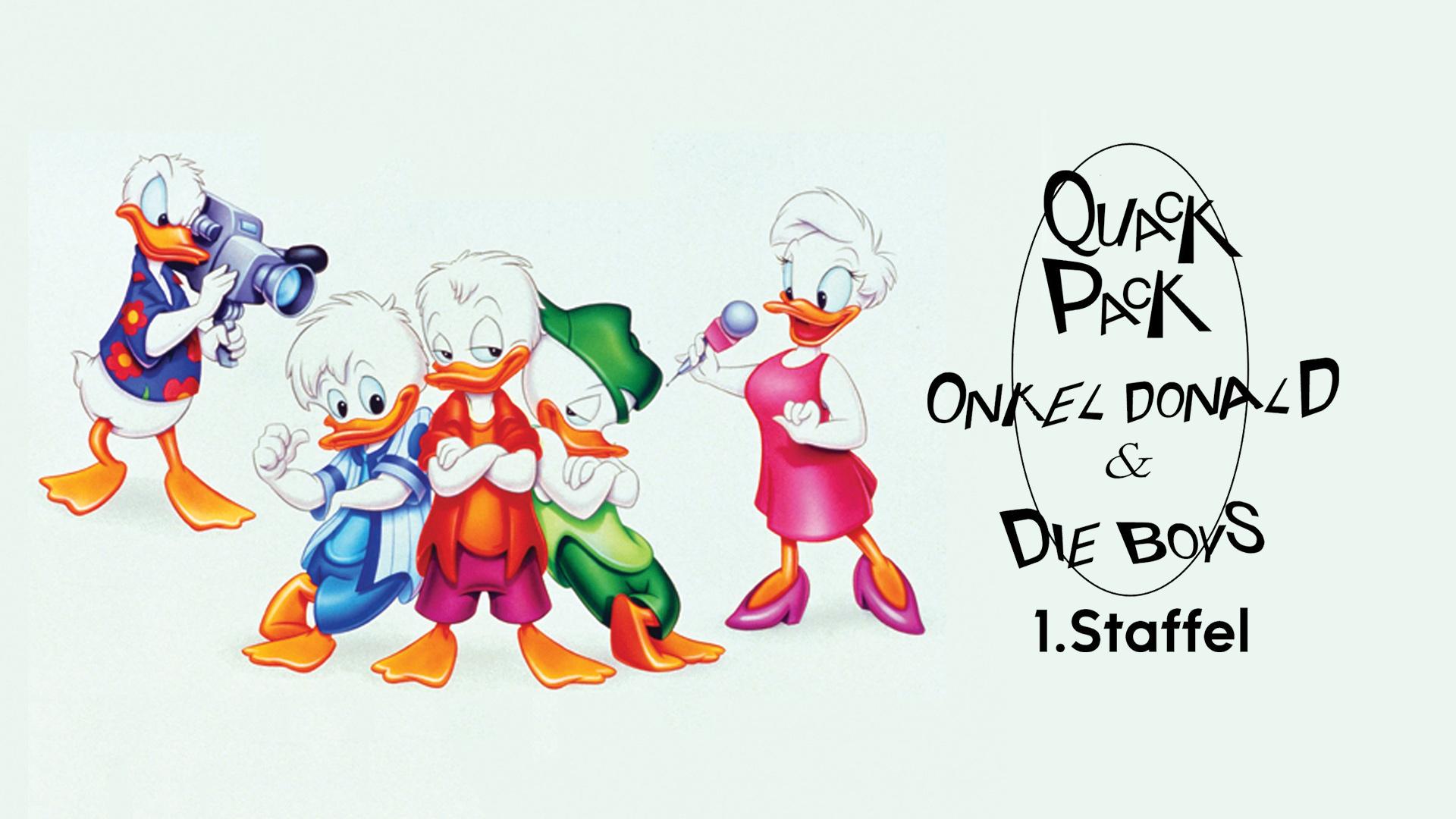 Quack Pack - Onkel Donald & die Boys - Staffel 1 Teil 1