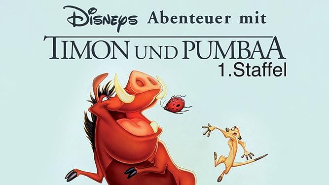 Amazonde Disneys Abenteuer Mit Timon Und Pumbaa Staffel