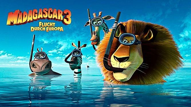 Madagascar 3 - Flucht durch Europa [dt./OV]