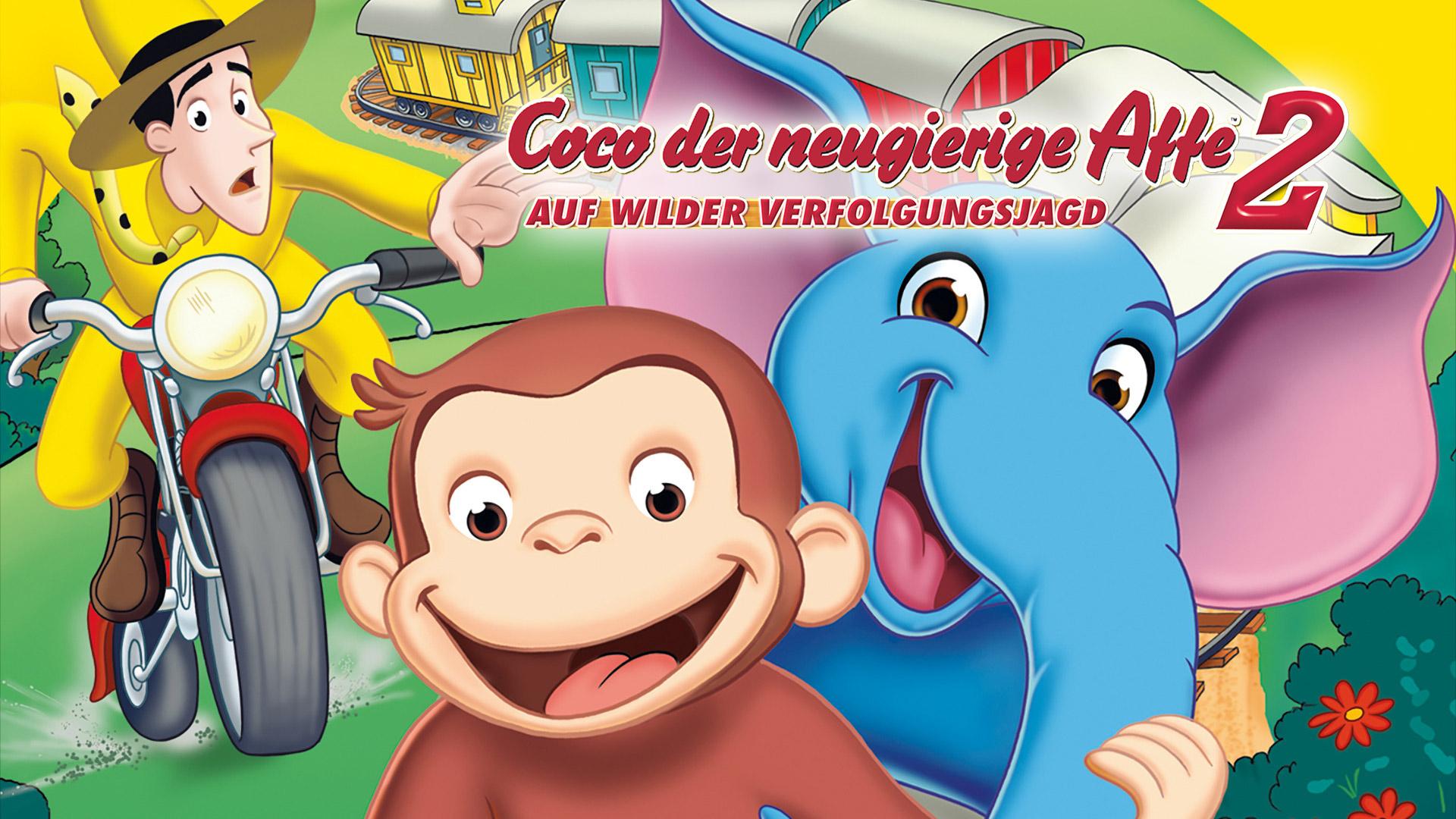 Coco der neugierige Affe 2 auf wilder verfolgungsjagd [dt./OV]
