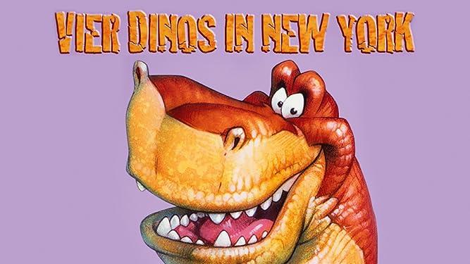 Vier Dinos in New York