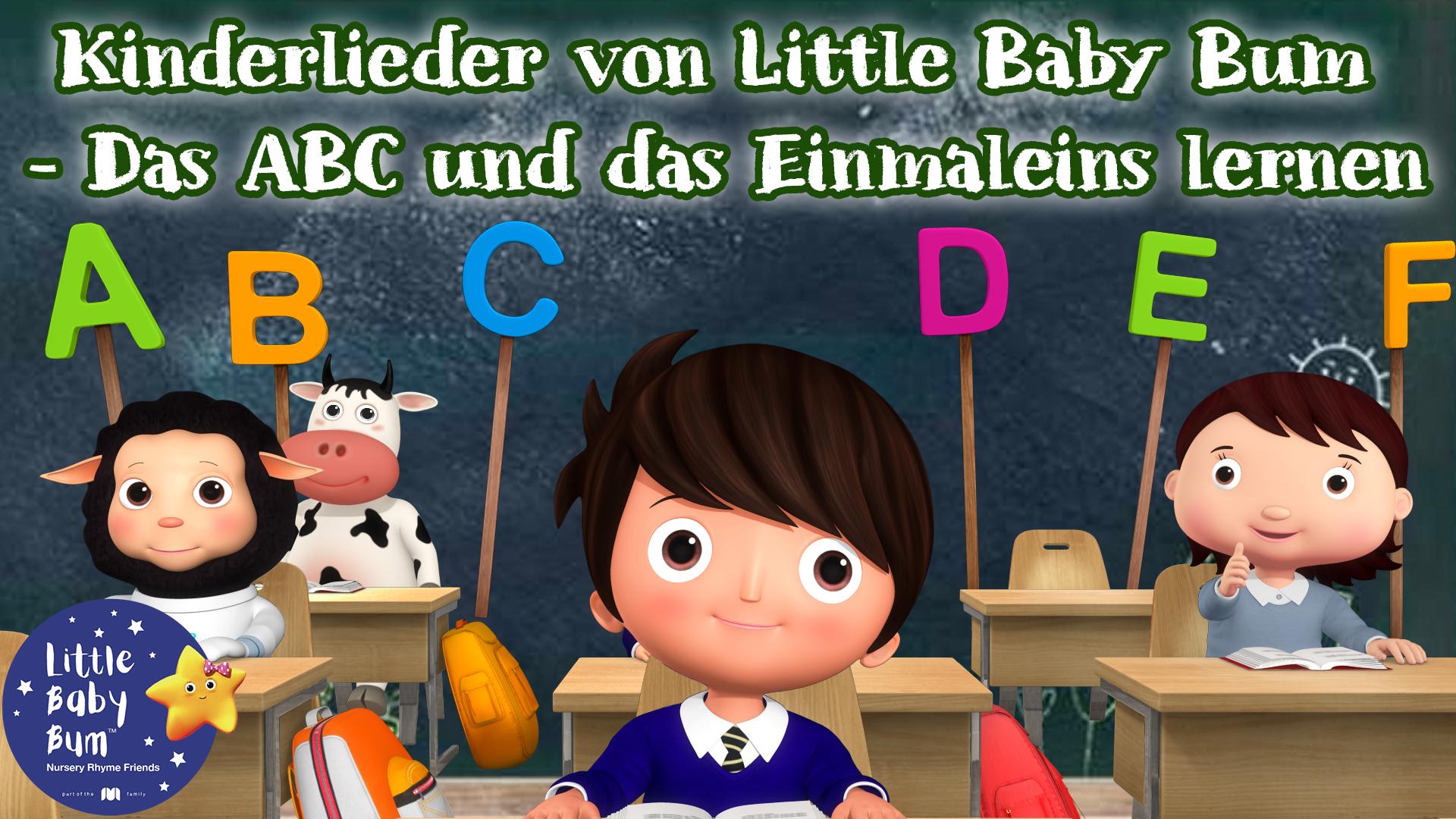 Kinderlieder von Little Baby Bum - Das ABC und das Einmaleins lernen