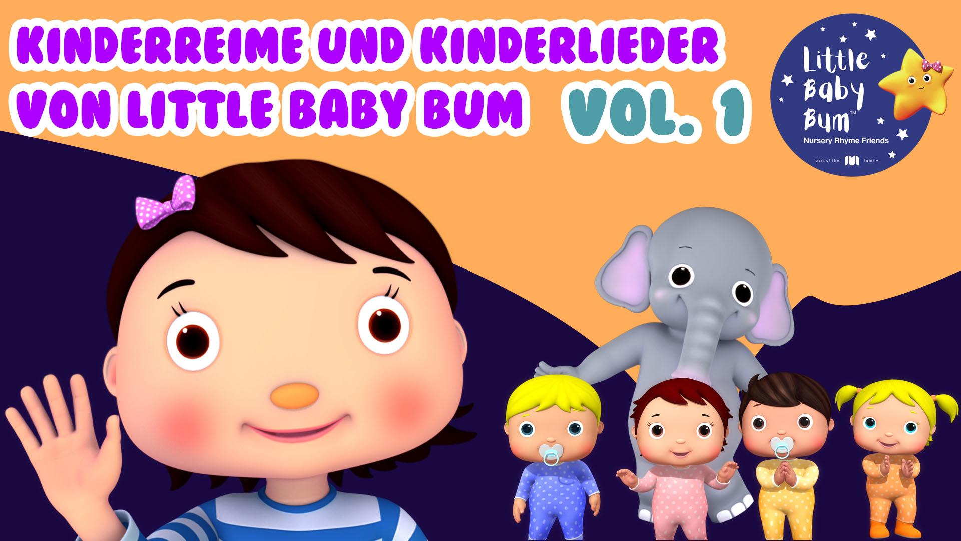 Kinderreime und Kinderlieder von Little Baby Bum