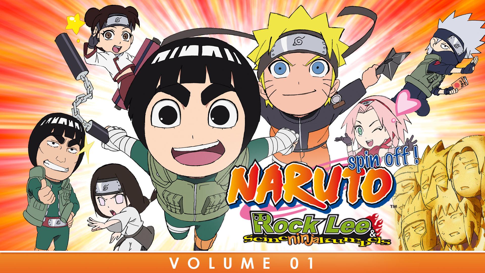 Naruto Spin Off! Rock Lee & seine Ninja Kumpels