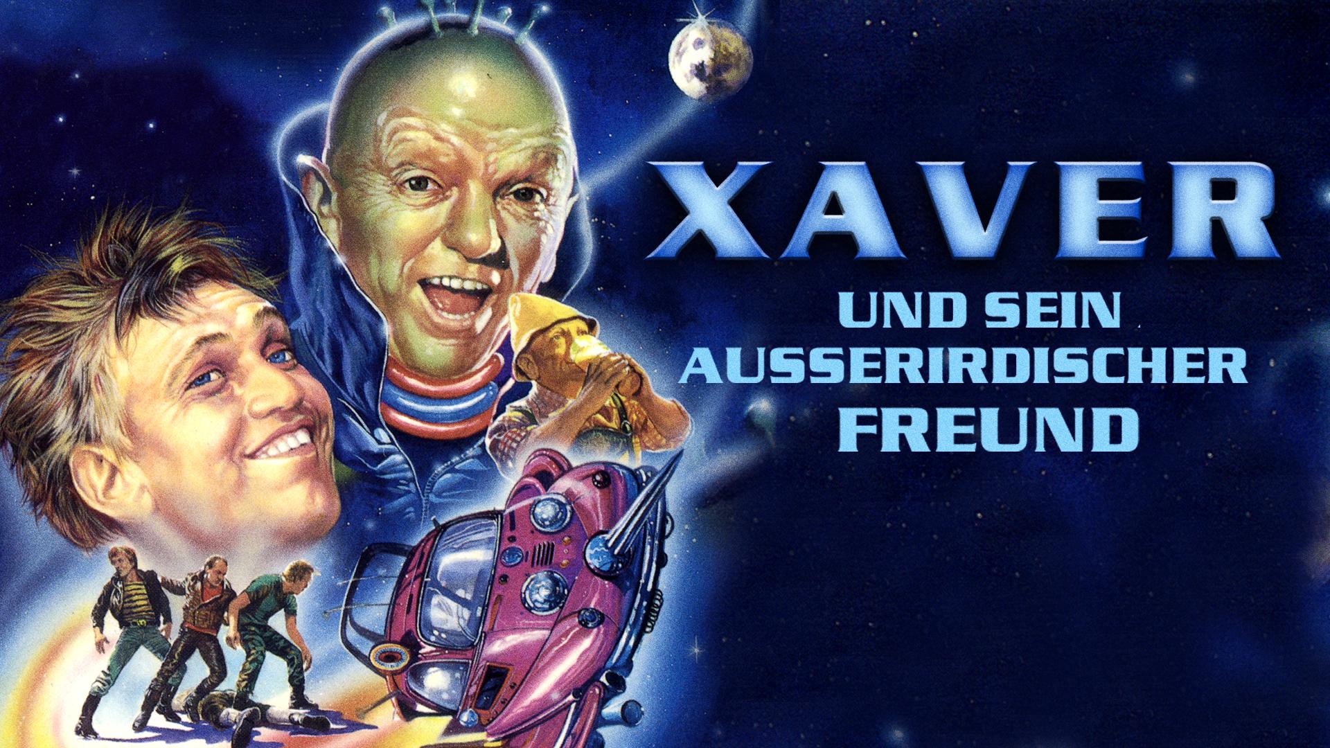 Xaver und sein außerirdischer Freund