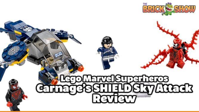 Review: Lego Marvel Superheroes Carnage's SHIELD Sky Attack Review on Amazon Prime Video UK