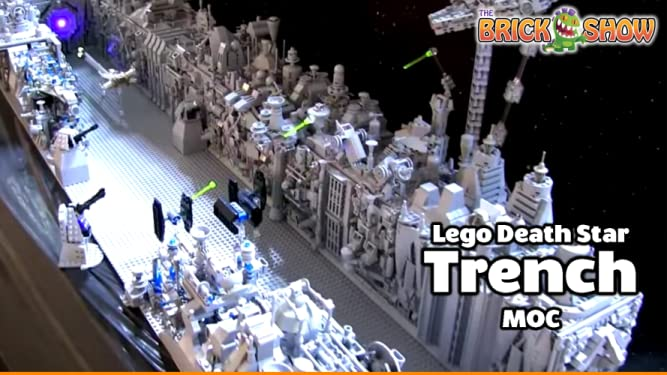 Amazon co uk: Watch Clip: Lego Death Star Trench MOC | Prime