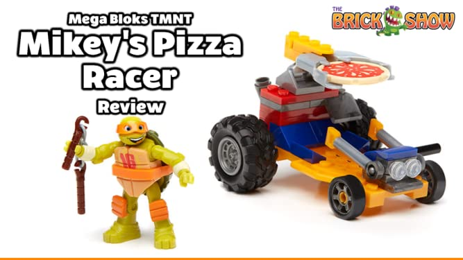 Review: Mega Bloks TMNT Mikey's Pizza Racer Review on Amazon Prime Video UK