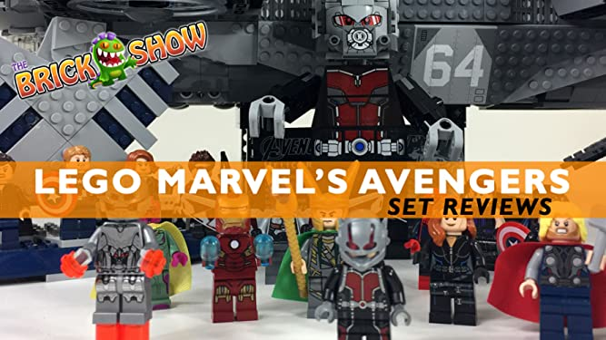 Review: Lego Marvel Avengers Set Reviews on Amazon Prime Video UK