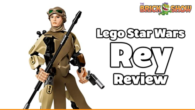 Review: Lego Star Wars Rey Review on Amazon Prime Video UK