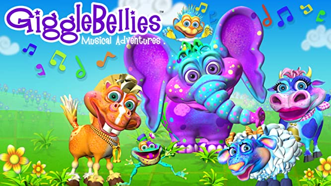 The GiggleBellies Musical Adventures Vol. 1 & 2