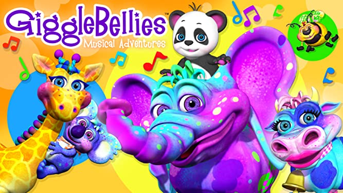 The GiggleBellies Musical Adventures Vol. 3
