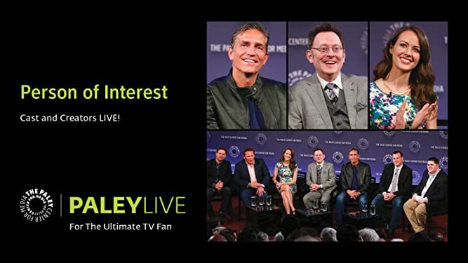 Amazon co uk: Watch Person of Interest: Cast and Creators PaleyLive